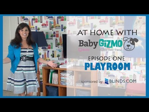 BG Home: PLAYROOM HOUSE TOUR - AT HOME WITH BABY GIZMO EPISODE 1