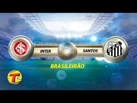 INTER X SANTOS AO VIVO - CAMPEONATO BRASILEIRO  - 22/10/2018