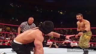 WWE john cena vs daivari blindfolded you can't see me match Raw