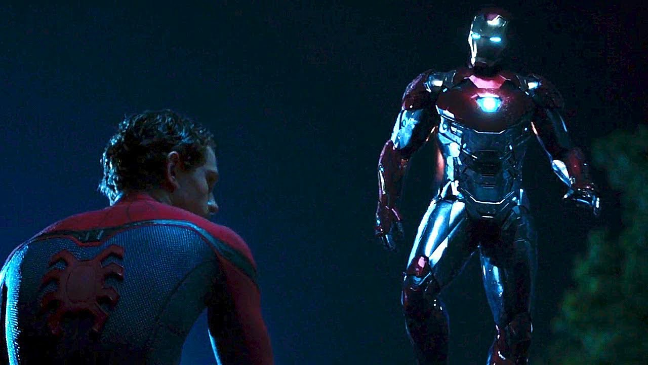 Железный Человек спасает Человека-паука / Человек-паук ...