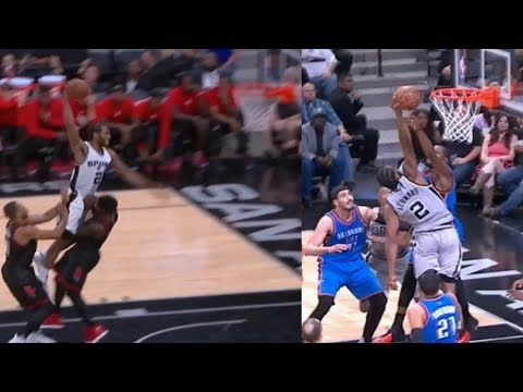 The Moments That Kawhi Leonard Wanna End The Entire World!