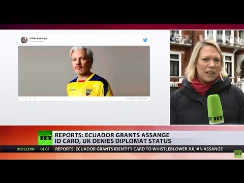 UK rejects Ecuador request for diplomatic status for Assange, demands he 'face justice'