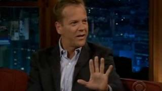Kiefer Sutherland interview on 24 Redemption and..cigarettes