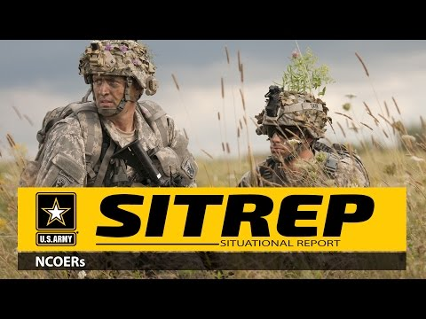 SITREP-Your NCOER, Getting It Right