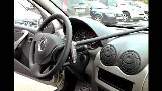 """Блокиратор рулевого вала """"Перехват"""" спас Renault Sandero от угона!"""