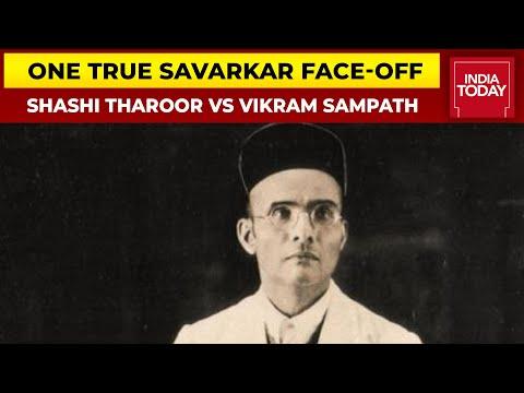The One True Savarkar Face-off: MP Shashi Tharoor Vs Historian Vikram Sampath| India Today Conclave