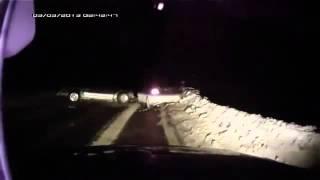 Лобовая авария Pajero Sport и Лансером ДТП! Авария! Видеорегистратор(, 2014-04-25T20:18:03.000Z)