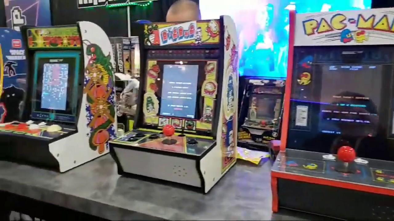 Arcade1Up New Games At NY TOY FAIR 2019 - LIVE
