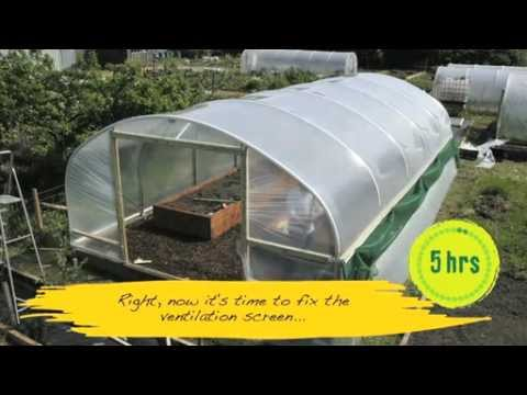 How easy is a Polytunnel to construct? - V71