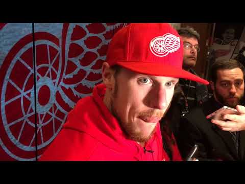 Red Wings' Jimmy Howard breaks down loss to Nashville