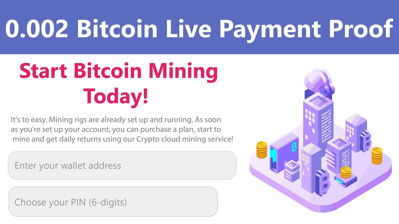 Ezmining New Free Bitcoin Cloud Mining Site 0 002 Bitcoin Live Withdrawal  Payment Proof 2019