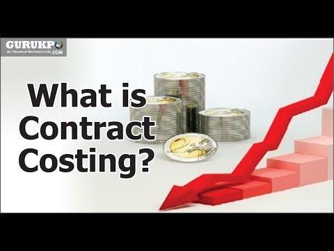 What is Contract Costing?(B.Com, M.Com) |  Dr. B. N Gaur
