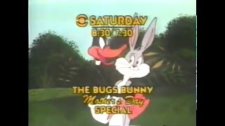 70's Ads: Trailer Bugs Bunny Mothers Day Special 1979