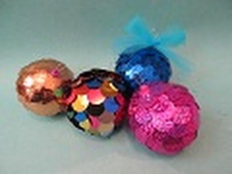 Esferas originales para navidad floritere 2011 youtube - Manualidades para hacer en casa ...