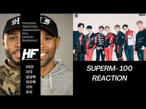 Super M - 100 Reaction Video (K-POP) Higher Faculty