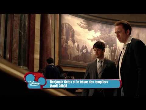 Benjamin Gates et le Trésor des Templiers - Mardi 10 septembre à 20h35 sur Disney Channel ! poster