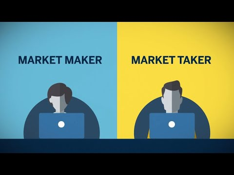 Trading and Analysis - Market Makers vs. Market Takers