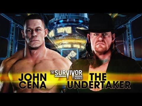 WWE 2K18 - John Cena vs The Undertaker Match! thumbnail