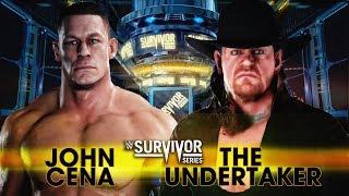 WWE 2K18 - John Cena vs The Undertaker Match!