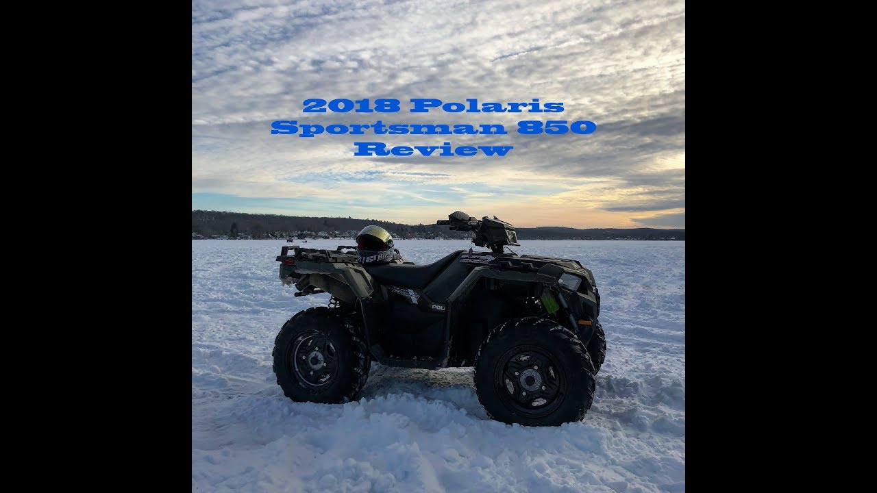 huge selection of 0078e 33b88 2018 Polaris Sportsman 850 - Initial Review