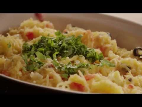 Stir Fry and Spaghetti Squash Recipe – Vegetarian, Gluten-free Pasta Recipe
