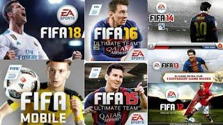 ¡EVOLUCIÓN DEL FIFA MOBILE 11-18! | HISTORIA DE FIFA MOBILE | KEVIN MOBILE
