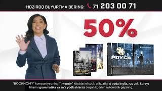 Booknomydan 50% Mega chegirma boshlandi❗