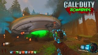 UFO CRASH OPEN WORLD ZOMBIES MAP! - BLACK OPS 3 CUSTOM ZOMBIES GAMEPLAY! (BO3 Zombies)