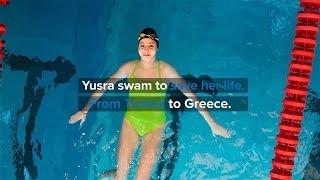 【字幕付き】リオオリンピックを目指す難民の少女