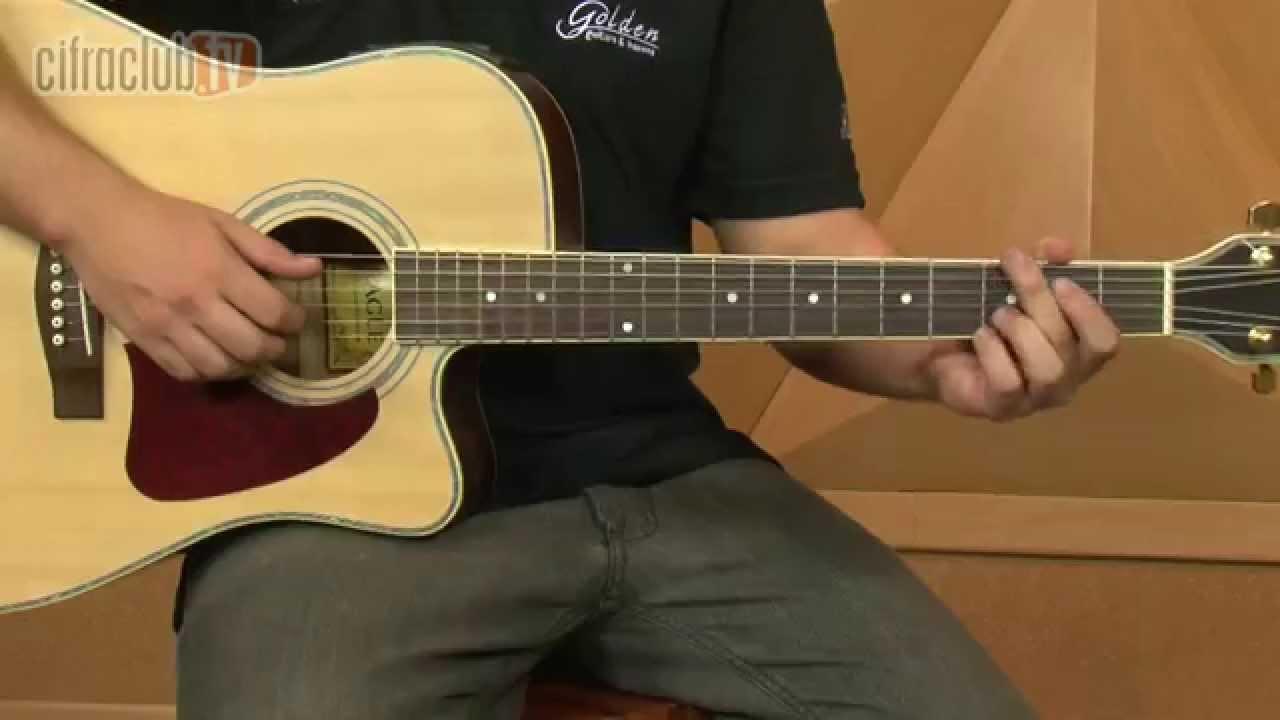 Amor Pra Recomeçar - Frejat (aula de violão completa)