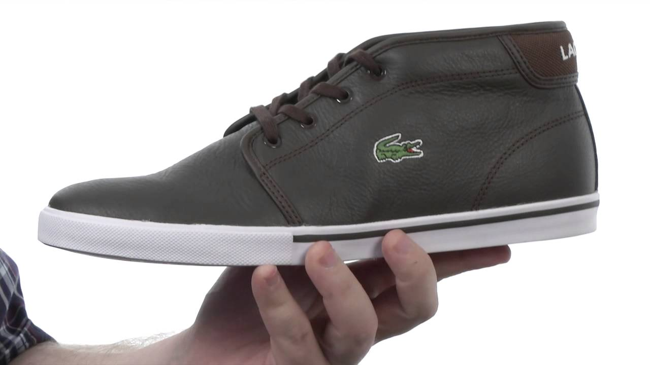 f69b8ad96aed9c Lacoste Ampthill LCR SKU  8299428 - YouTube