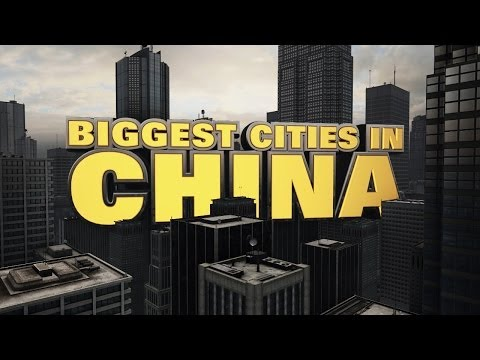 Top Ten Biggest Cities in China 2014