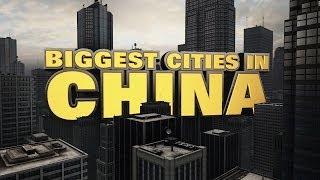 Top Ten Biggest Cities in China 2014