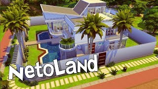 Casa dos Irmãos Neto - NETOLAND │The Sims 4 (Speed Build)