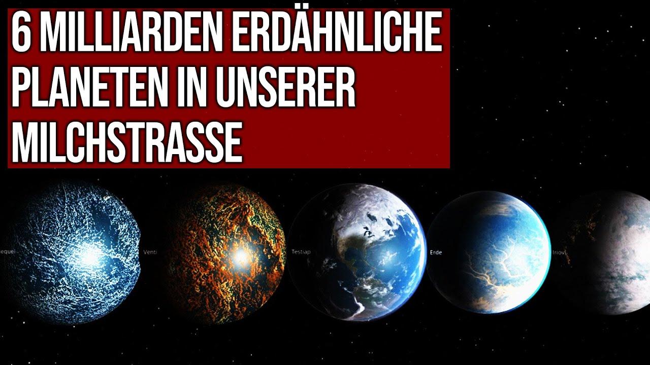 6 Milliarden erdähnliche Planeten in unserer Milchstrasse vermutet