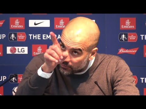 Pep Guardiola Full Pre-Match Press Conference - Manchester City v Bristol City - EFL Cup