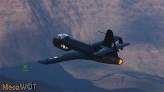 world of warplanes   vought f6u pirate 7 kills   1080p 60fps
