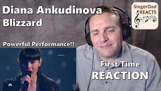 Classical Singer Reaction - Diana Ankudinova | Blizzard. One of My Favorite Diana Performances!
