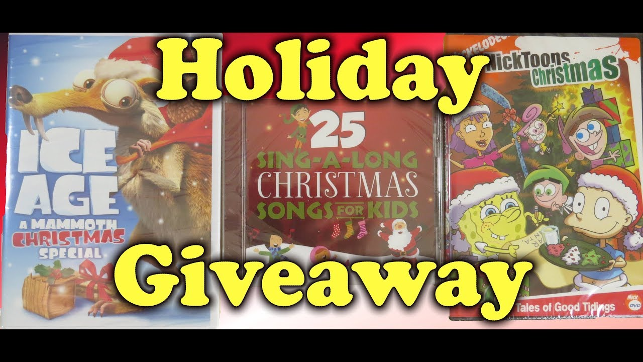 The great christmas giveaway songs