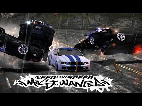 Final Pursuit With Tobey Marshall Mustang Shelby GT500 From NFS Movie