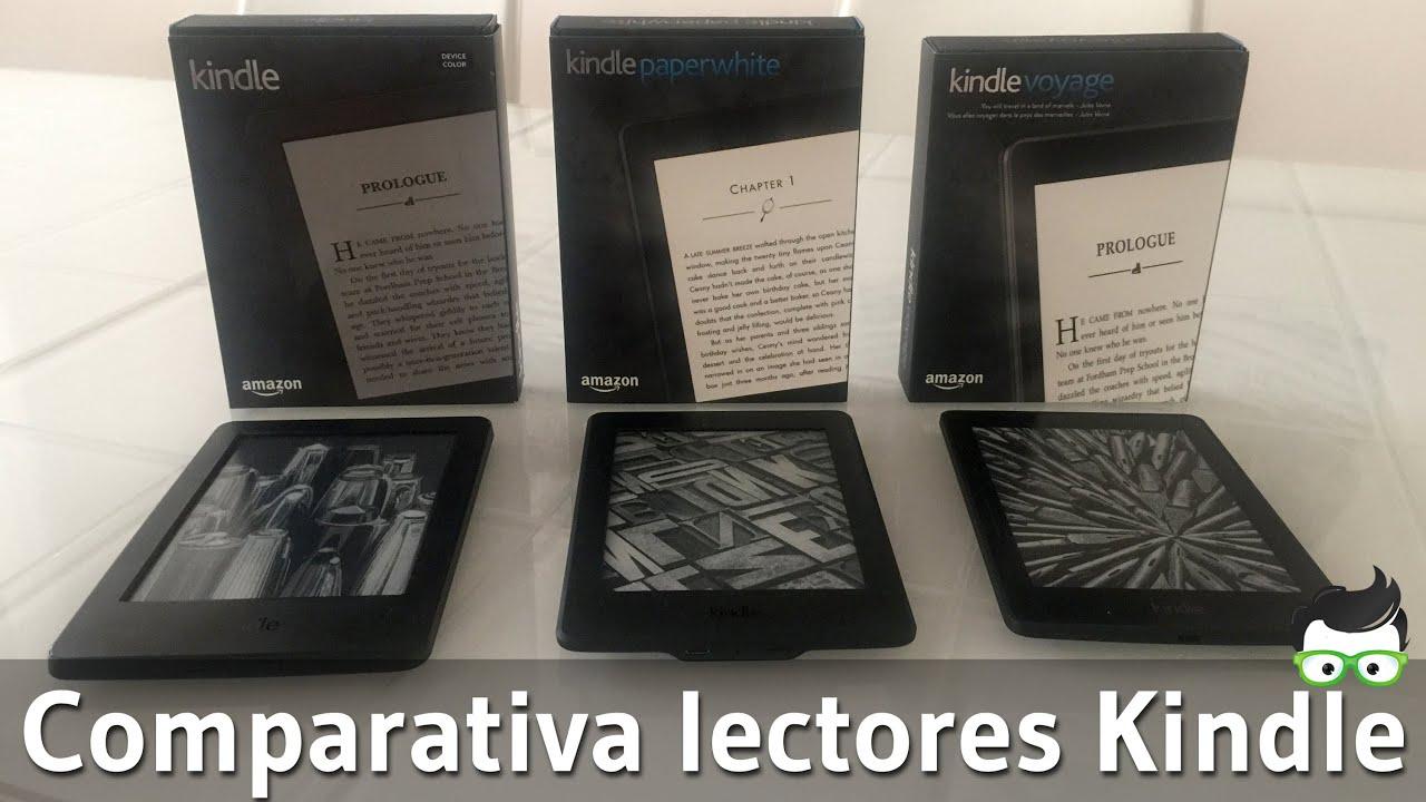 Kindle Vs Sony Reader: Comparativa Kindle Vs. Kindle Paperwhite Vs. Kindle Voyage