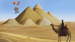 Кругосветное путешествие Слоненка на воздушных шарах. Мультфильм про Слона.