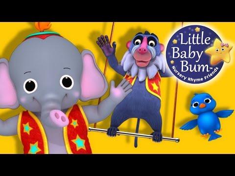 Animal Fair | Nursery Rhymes | By LittleBabyBum!