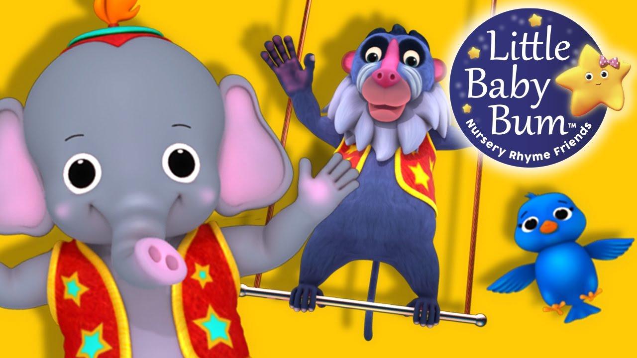 Learn with Little Baby Bum   Animal Fair   Nursery Rhymes ...