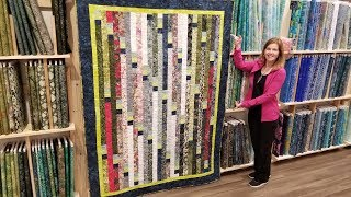 Introducing the ADJUSTABLE SIZE Jelly Roll Race Quilt Pattern!