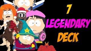 7 Legendary Cards 1 Deck - South Park Phone Destroyer