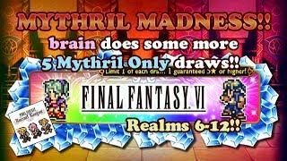 FFRK - Mythril Madness 234 - Realms on Parade Relic Draws FFXII - FFVI (brain)