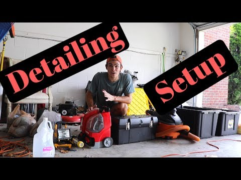 My Detailing Setup: Products, Tools, And Everything Else!