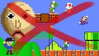 Baldi would NOT be OP in Super Mario Bros. Level UP Debunked (Mario vs Baldi's Basics Animation)