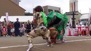 島町文化広報部撮影 島町獅子舞保存会 http://shima-shishi.net/